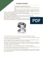 El Anillo Atlante descripción del anillo en cuanto a su funcionamiento esoterico y su uso.