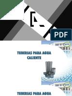 TUBERÍAS DE AGUA CALIENTE