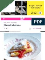 Ricette Donnamoderna Com Triangoli Alla Crema