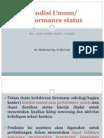 Kondisi Umum (Karnofsky Score)