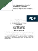 Sejarah Dan Hakekat Bahasa Indonesia
