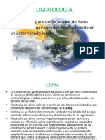 CLIMATOLOGIA