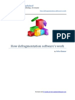 How-defragmentation-Software-s-Work