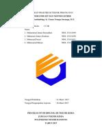 Laporan Praktikum Teknik Perawatangensetmotor
