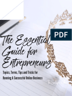 The Essential Guide for Entrepreneurs