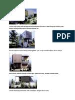 Studi Preseden Bentuk Rumah Tinggal
