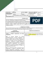 3.1 Programa de Derecho Administrativo