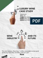 luxury wine case study