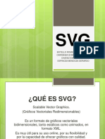 SVG Scalable Vector Graphics.