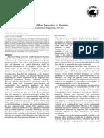 Mechanisms of Wax Deposition