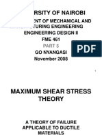 Maximum Shear Stress Theory-Derivation