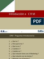 CRM - Introducción CRM