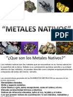 Diapositivas Metales Nativos