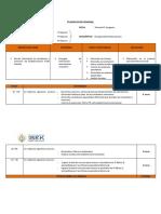 1° REPORTE DE PLANIFICACIONES
