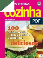 5  Grandes Receitas - Lanches Bolos doces e Salgados Cláudia Cozinha[1]