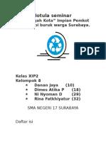 Makalah Bahasa Indonesia (Januari)