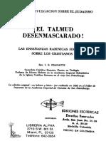 El Talmud Desenmascarado - Rev. I. B. Pranaitis.pdf