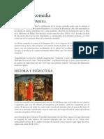 Analisis Literario - La Divina Comedia