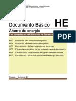 CTE - Documento Básico - Ahorro de Energía