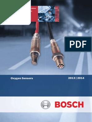 Bosch Australia Oxygen Sensor Catalogue 2013 pdf | Car | Ignition System