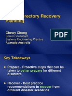 AD Recovery