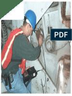 Ultrasonic Testing of Movable Bridge Pin Illustration