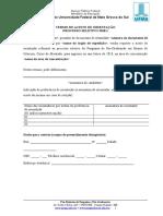Modelos e Formulários Do Edital 2018.1