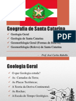 Geologia e Aspectos Geomorfologicos de SC