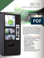 cold beverag soda vending machines gencb10vm