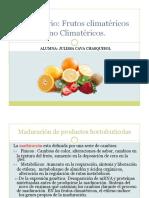 Climaterio Frutos Climatericos