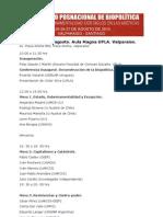 Programa Coloquio Biopolítica