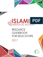 TDSB Islamic Heritage Month Resource Guidebook 2017