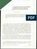 La Posición En La Existencia Y La Evasión Del Ser Urabayen y Levinas.pdf
