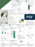 Comtac - Manual Adap RJ45-USB