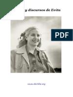 Textos y Discursos Eva Peron
