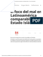 El Foco Del Mal en Latinoamérica Comparable Con El Del Estado Islámico » Foros de La Virgen María