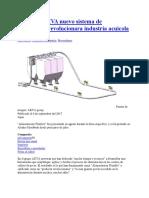 20170908 AKVA Nuevo Sistema de Alimentacin Revolucionara Industria Acuicola