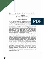 Robert Michels - Die deutsche Sozialdemokratie im internationalen Verbande (1907)