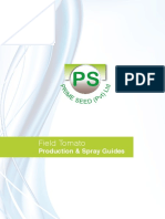 Field Tomato Production Guide 2016