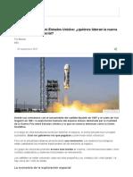 Ni China, Ni Rusia, Ni Estados Unidos_ ¿Quiénes Lideran La Nueva y Feroz Carrera Espacial_ - BBC Mundo