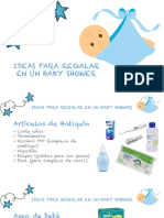 Ideas Para Regalar en Baby Shower