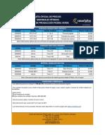 Lista de Precios PIedra Verde