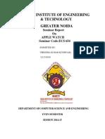Dna Computing Report