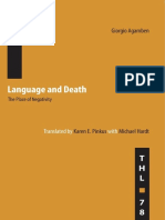 1991 Language and Death (Minnesota, 1991)