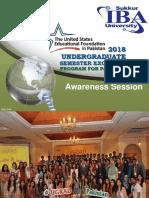 UGRAD Awareness Session