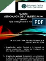 Sesion 7 - Metodologia de Investigación