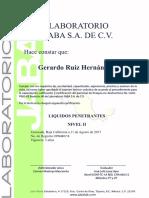 Certificado PT GRH II 2017