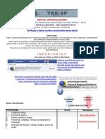 Edital Verticalizado TRE-SP Técnico Judiciário - Área Administrativa