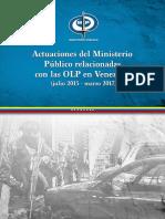 Informe del Ministerio Público sobre OLP 2017