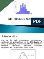 Distribucion Normal y Normal Estandar